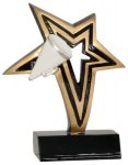 Cheer Infinity Star Resin Cheerleading Trophy Awards