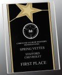 Gold Star Acrylic Stand-Up Patriotic Awards